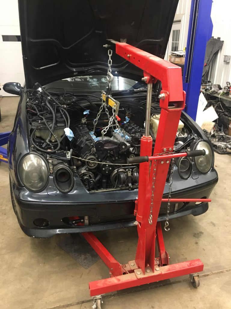 13-engine swap